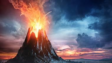 Bricht dieser Vulkan aus, sterben womöglich 100 Millionen Menschen - Foto: iStock / RomoloTavani