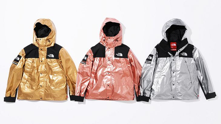 Supreme x The North Face: Metallic Collection 2018