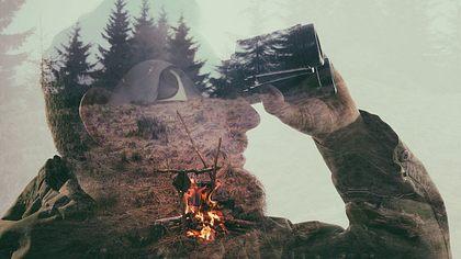 So überlebst du im Wald - Foto: iStock / SvetaZi