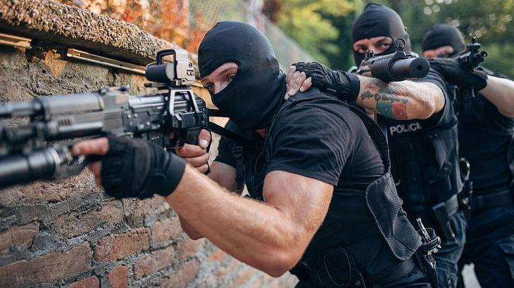 SWAT-Team im Einsatz