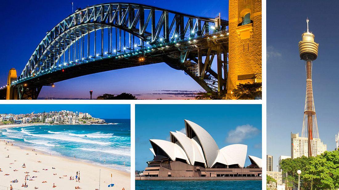 Sehenswürdigkeiten in Sydney