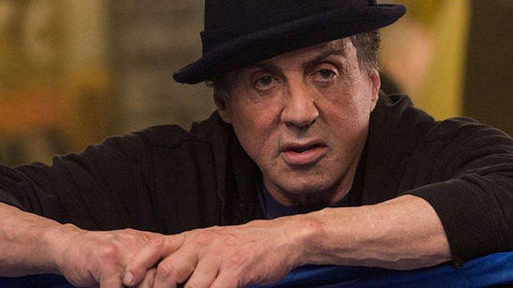 Sylvester Stallone scherzt
