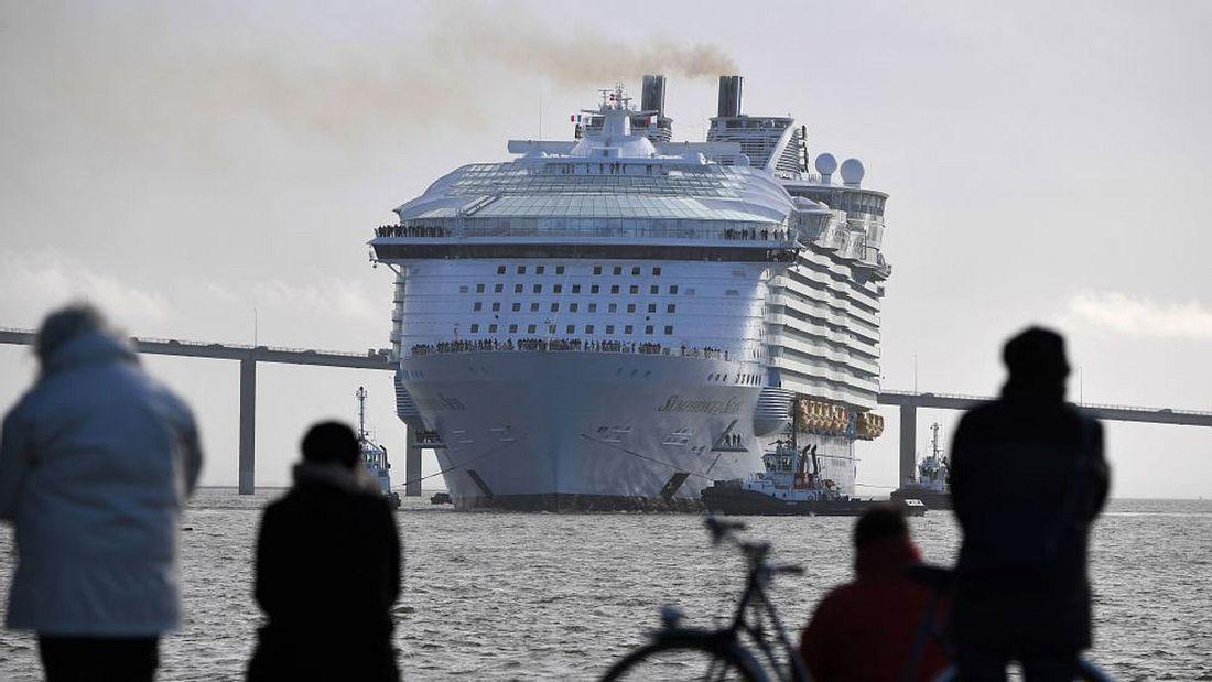 Die Symphony of the Seas ist das größte Kreuzfahrtschiff