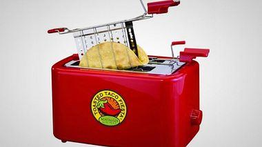 Dieser Taco-Toaster verwandelt  labbrige Tortillas in knusprige Wraps