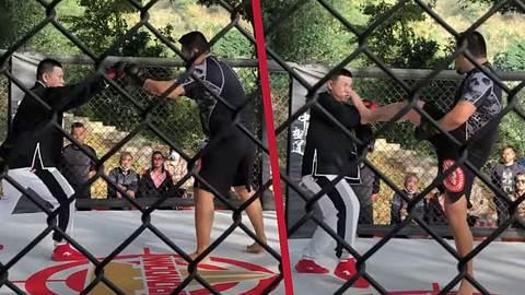 Tai-Chi-Meister gegen MMA-Fighter - Foto: YouTube / 徐晓冬北京格斗狂人