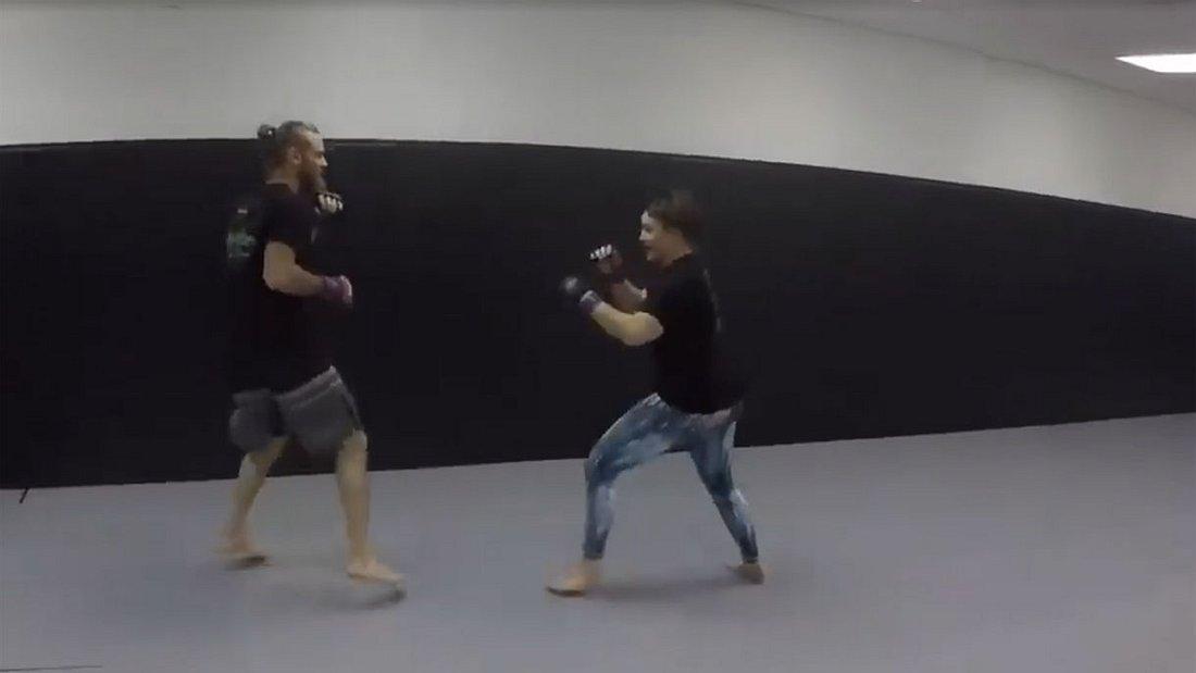 Mixed Fights Frau Gegen Mann