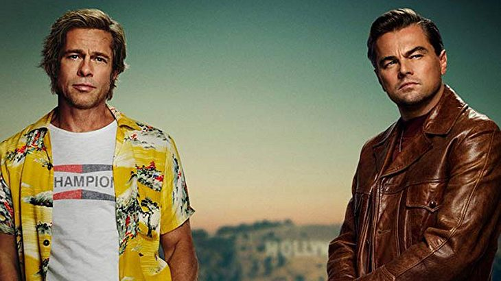 "Brad Pitt Leonardo DiCaprio in ""Once Upon a Time in Hollywood"""