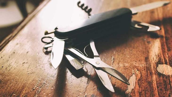 Taschenmesser sind praktische Alltags-Helfer