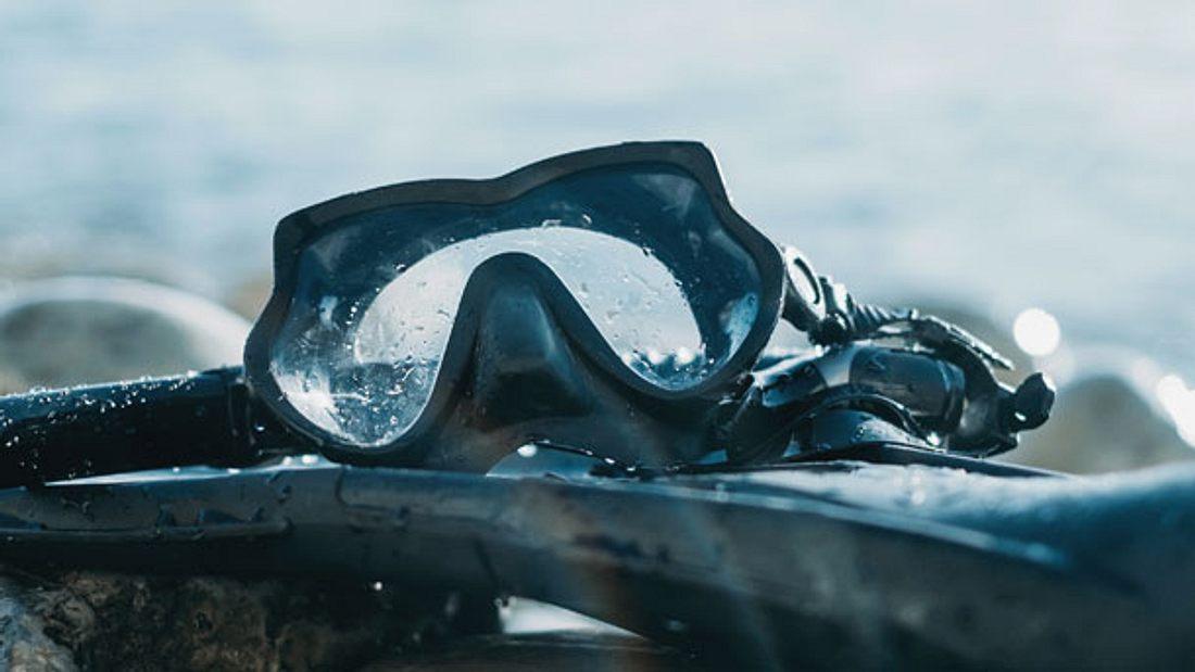 Taucherbrille - Tauchmaske - Schnorchel