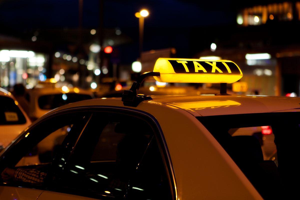 Wenn das Taxi-Schild rot leuchtet, droht Gefahr
