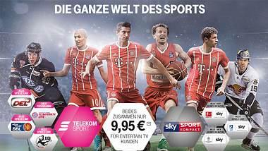 TV-Hammer: Telekom zeigt Bundesliga & Champions League
