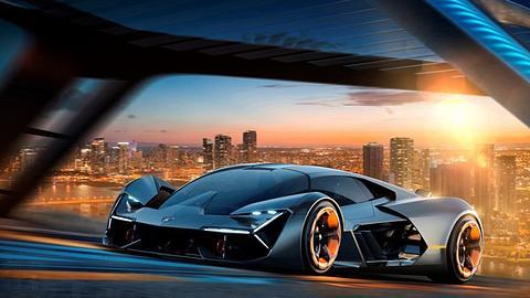 Lamborghini Terzo Millennio: Ade Verbrennungsmotor