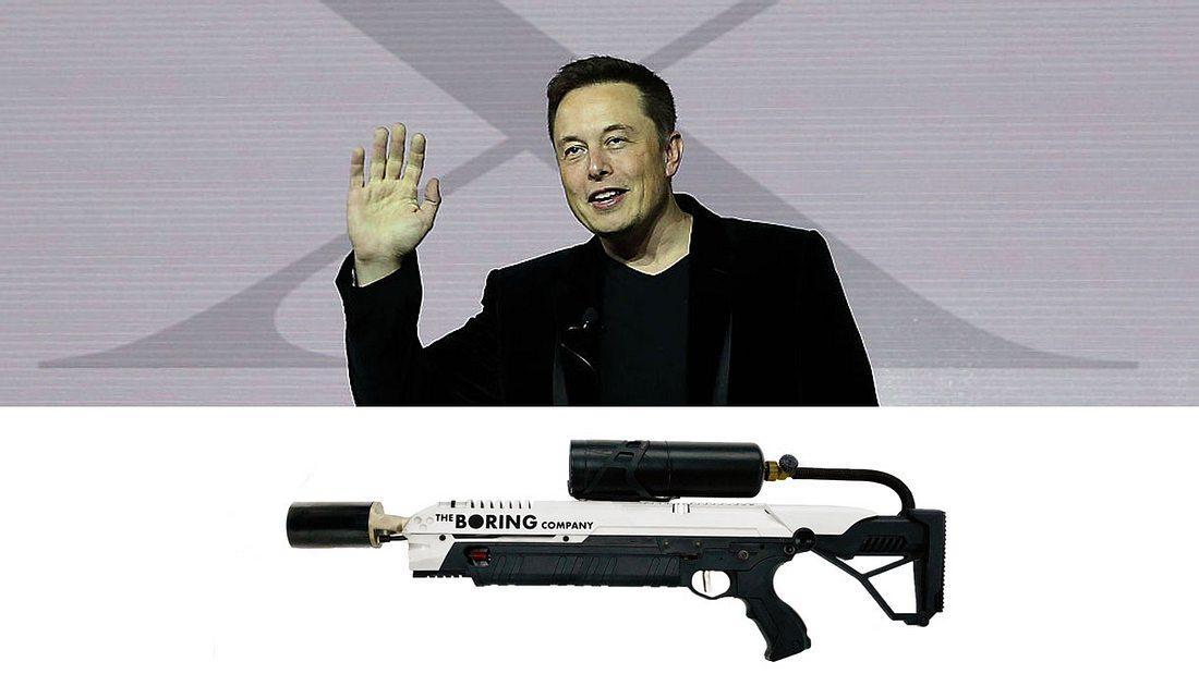 Elon Musk und sein Flammenwerfer