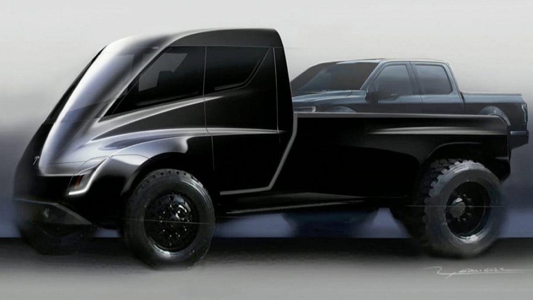 Der Tesla Pickup soll 2019 auf den Markt kommen