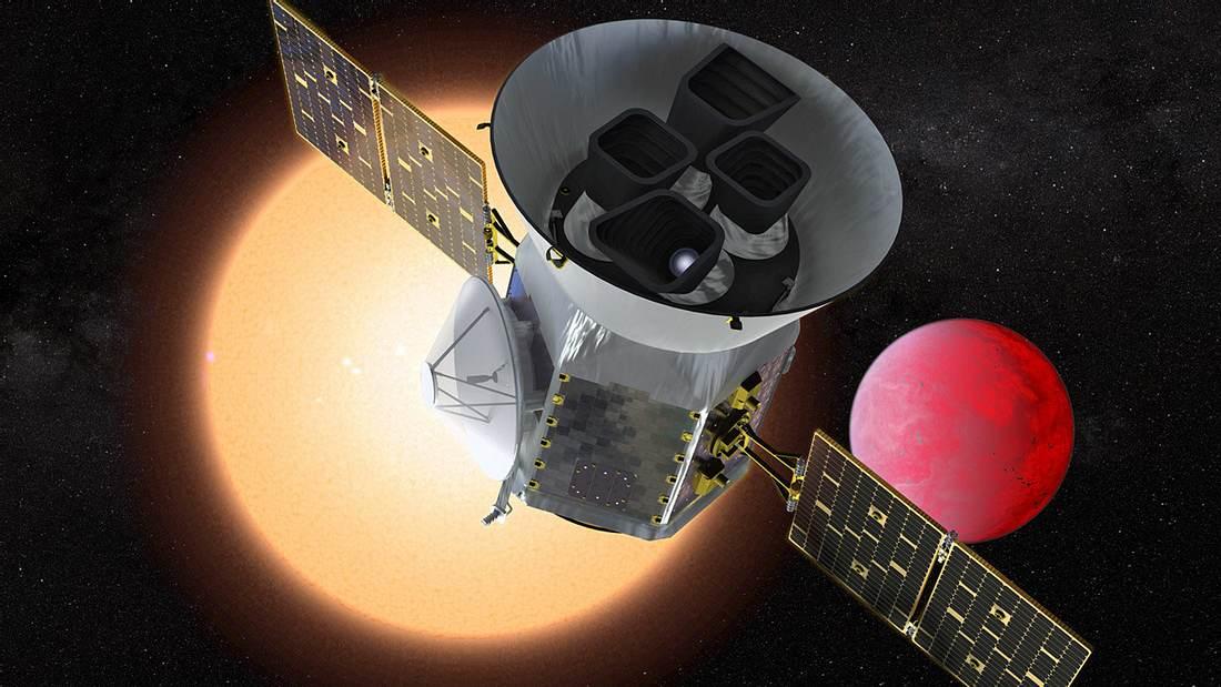 Aliens im Fokus: SpaceX schießt NASA-Superteleskop ins All
