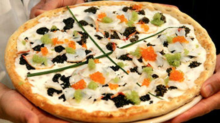 Teuerste Pizza der Welt: Nino Bellisima