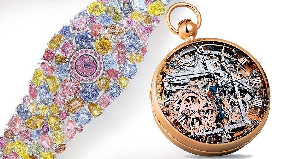 Das sind die teuersten Uhren der Welt