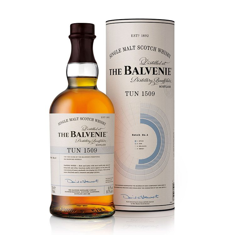 The Balvenie Tun 1509 Batch 4 Single Malt Scotch Whisky