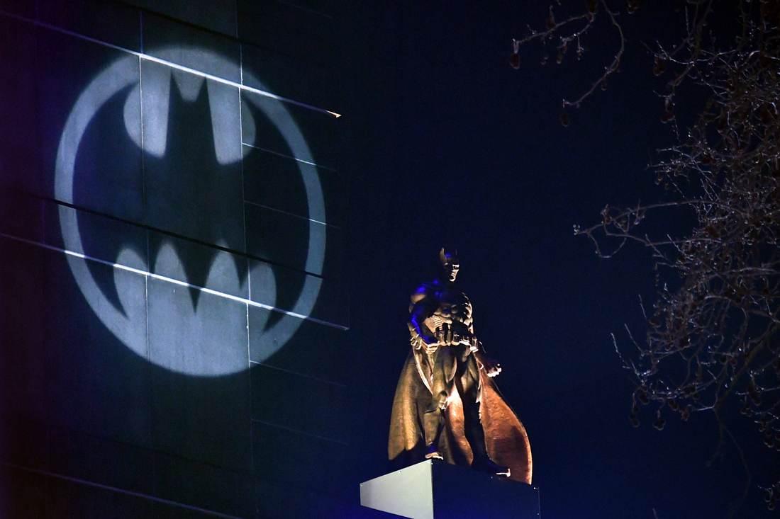 Batman-Statue in London