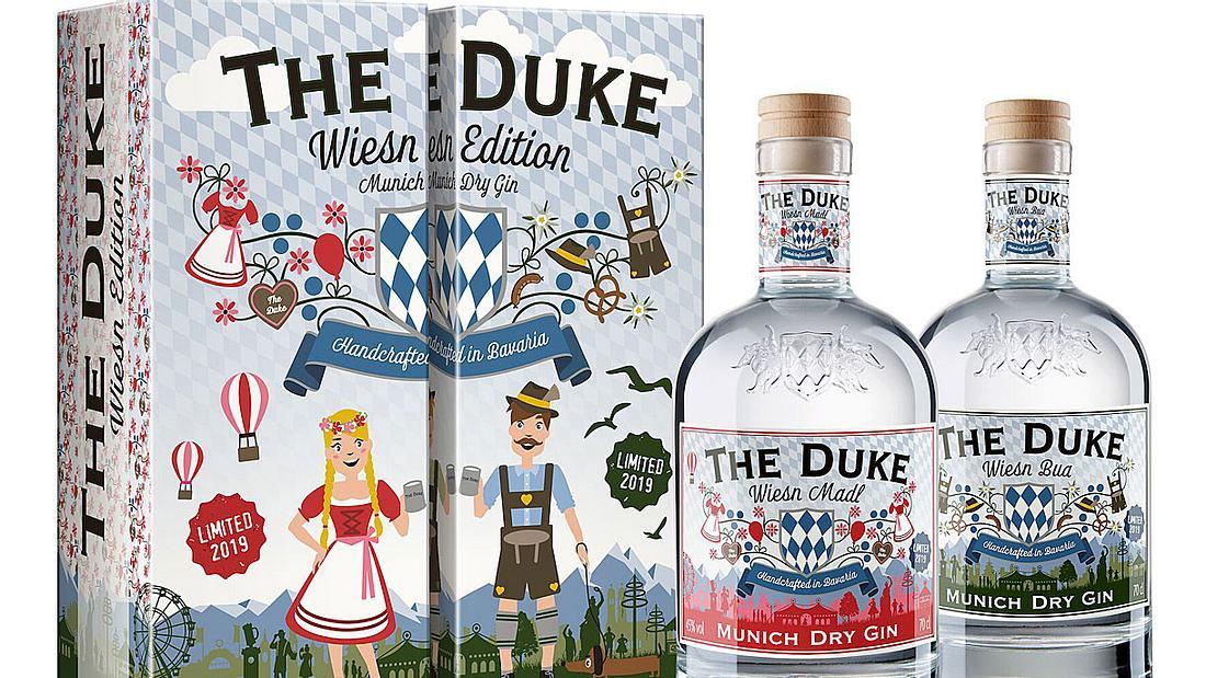 The Duke Gin mit einer Wiesn-Edition