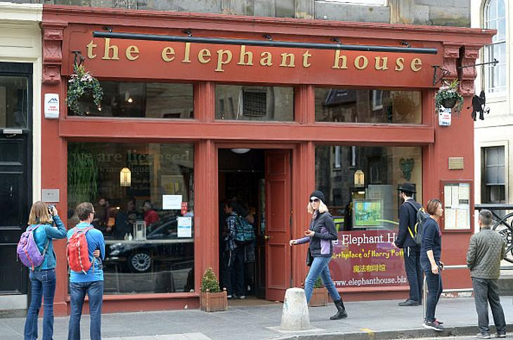 The Elephant House in Edinburgh.