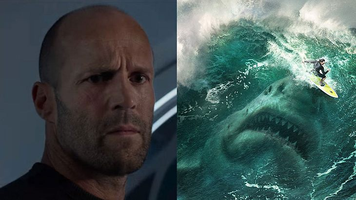 "Jason Statham in ""The Meg"""