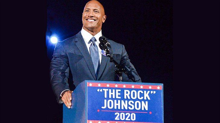 Dwayne Johnson: The Rock bald US-Präsident?