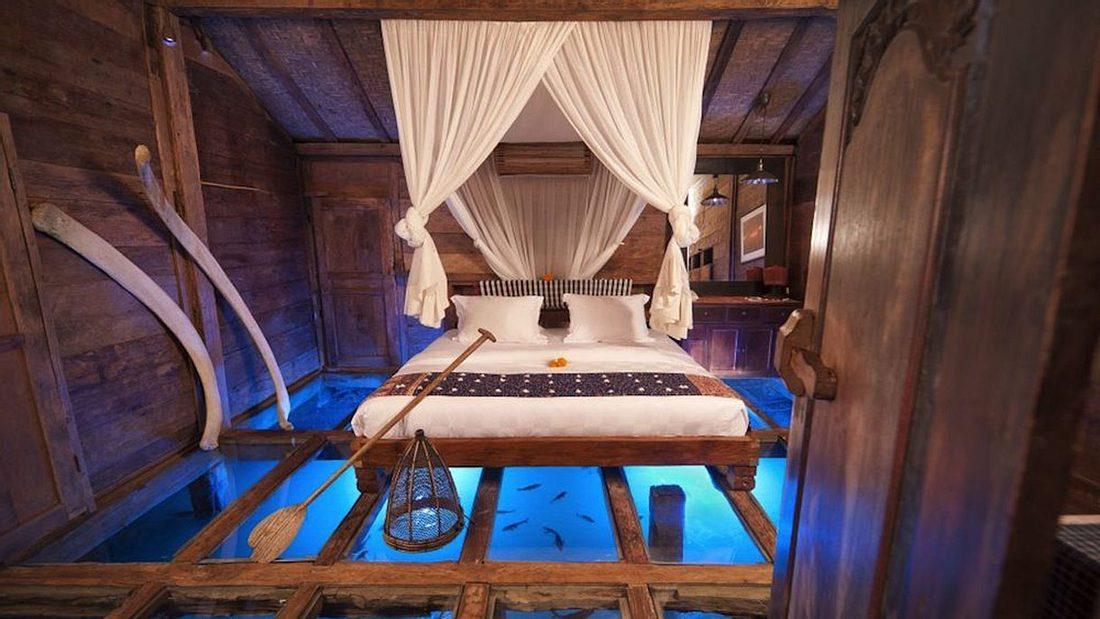"The Shrimp House"" gehört zum Bambu Indah Hotel in Bali"