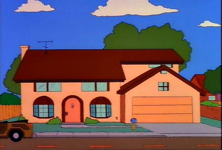 Die traurige Geschichte des echten Simpsons-Hauses