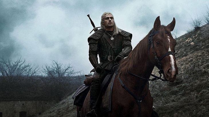 """Henry Cavill in """"The Witcher"""""""