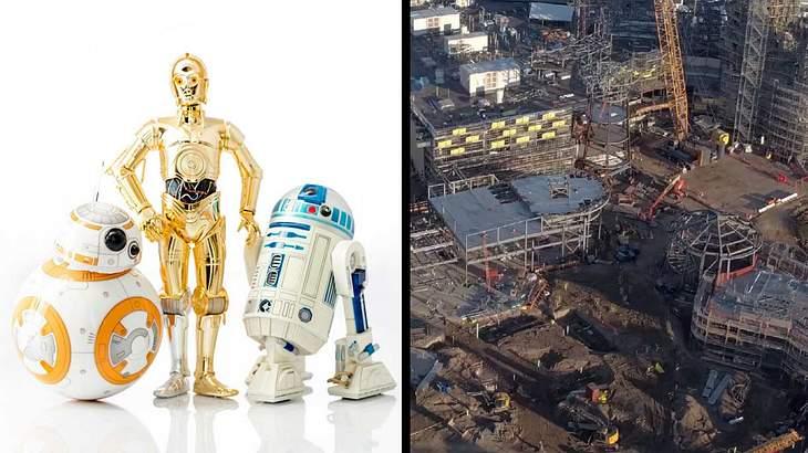 """Neue Bilder aus dem """"Star Wars""""-Vergnügungspark"""
