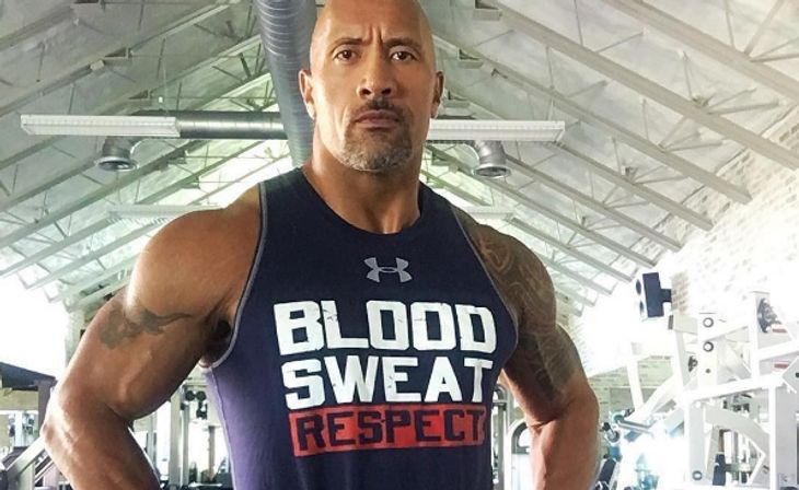 Blood, Sweat & Tears: The Rock im Under-Amour-Shirt