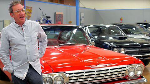 Tim Allen präsentiert seine Autosammlung - Foto: Youtube / GQ