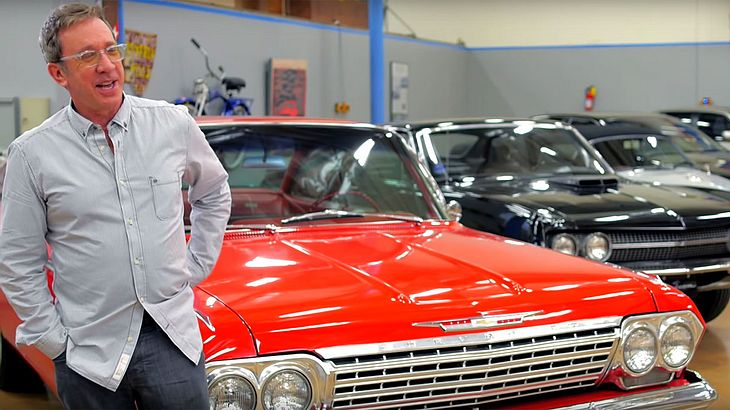 Tim Allen präsentiert seine Autosammlung