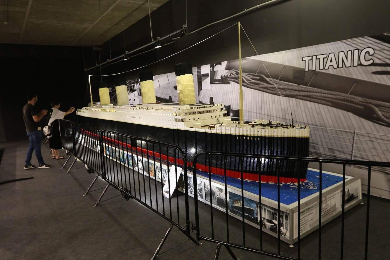Titanic aus Lego