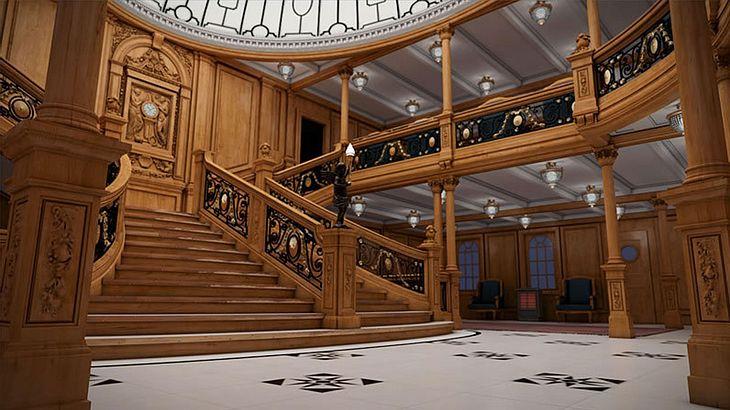 Luxuriös: Auf der Titanic II trifft Retro auf moderne Technik