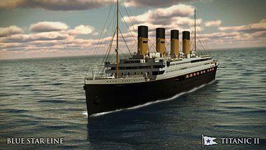 Die Titanic II soll 2018 erstmals vom Stapel laufen - Foto: Blue Star Line