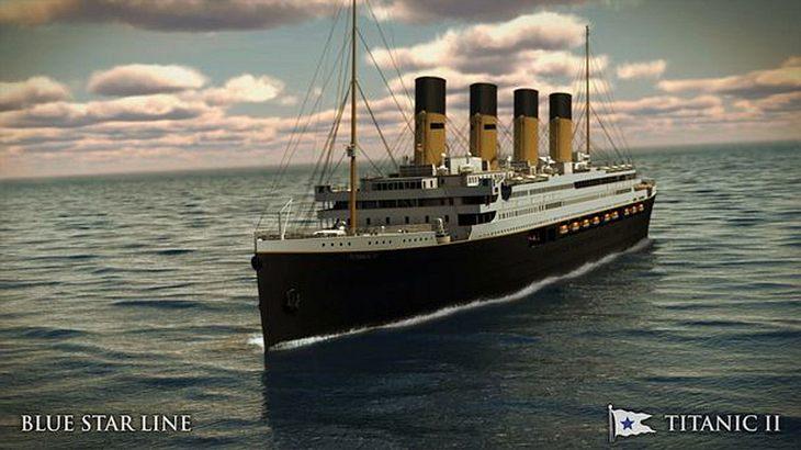 Die Titanic II soll 2018 erstmals vom Stapel laufen