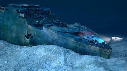 Touristen-Tauchgang: Fans der Titanic können jetzt Touren zum Wrack des Kreuzfahrt-Giganten buchen - Foto: Blue Marble Dive