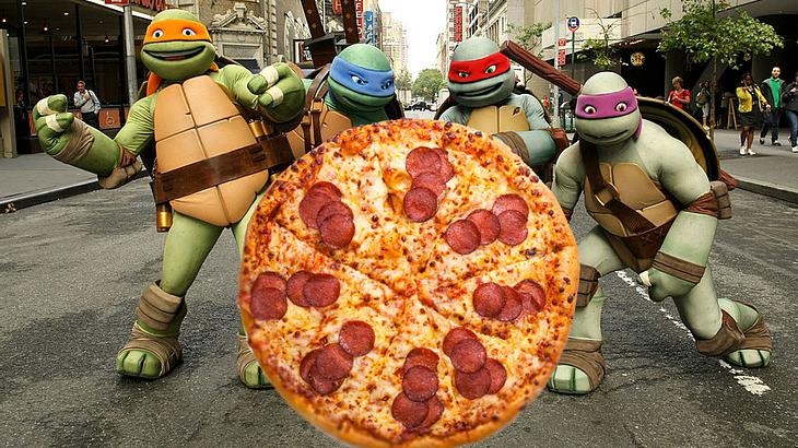 Teenage Mutant Ninja Pizza
