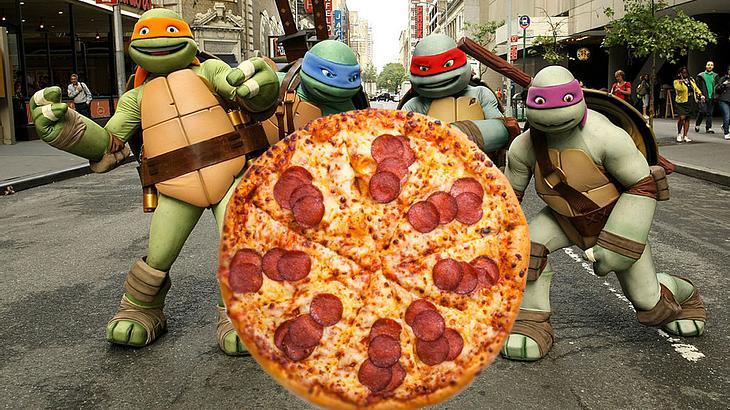 Teenage Mutant Ninja Pizza