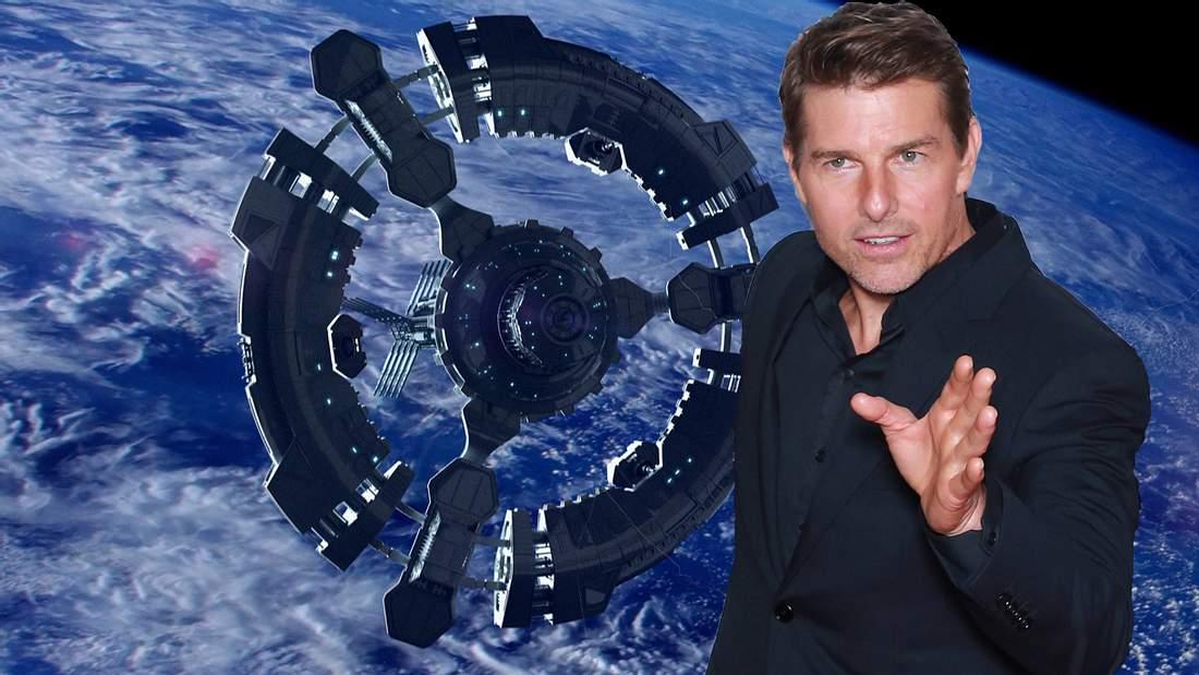 Tom Cruise filmt im Weltall