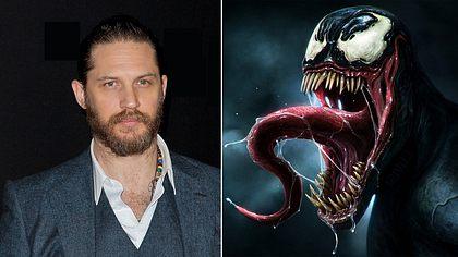Tom Hardy wird den Marvel-Schurken Venom im gleichnamigen Spider Man-Spin-off spielen - Foto: TIBRINA HOBSON/AFP/Getty Images/ Marvel