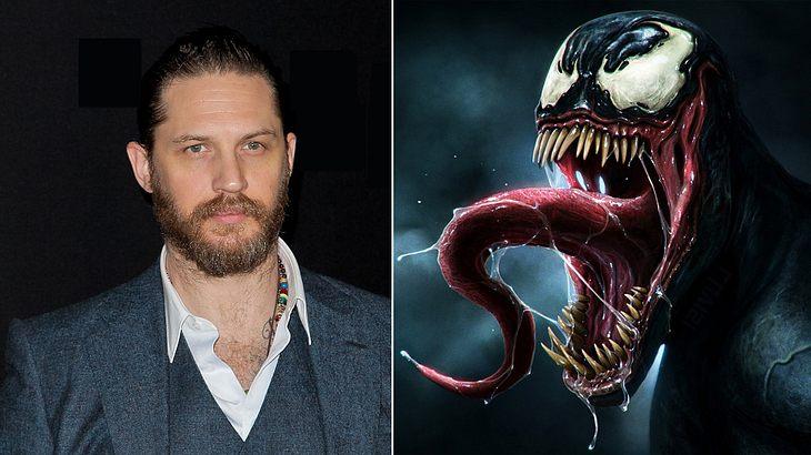 """Tom Hardy wird den Marvel-Schurken """"Venom"""" im gleichnamigen """"Spider Man""""-Spin-off spielen"""