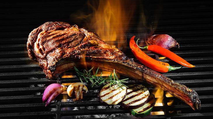 Das Tomahawk auf dem Grill: einfach ein Genuss