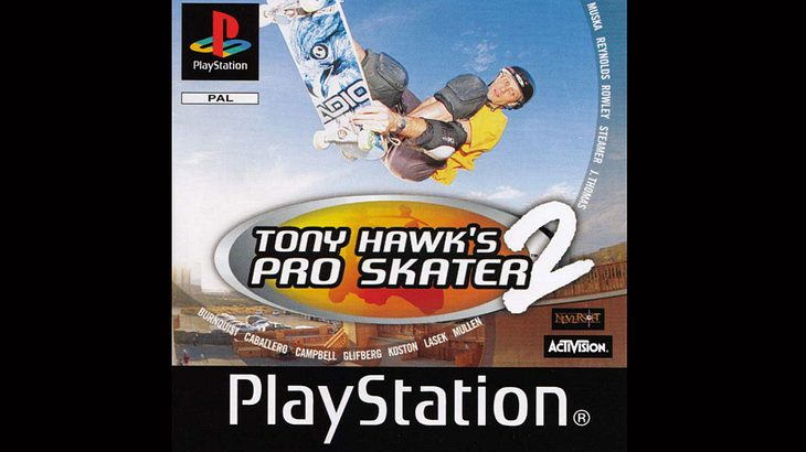 """Tony Hawk's Pro Skater 2"" für die PlayStation 1"