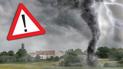 Unwetter-Warnung: Hier verpasst Helene uns den Herbst-Hammer