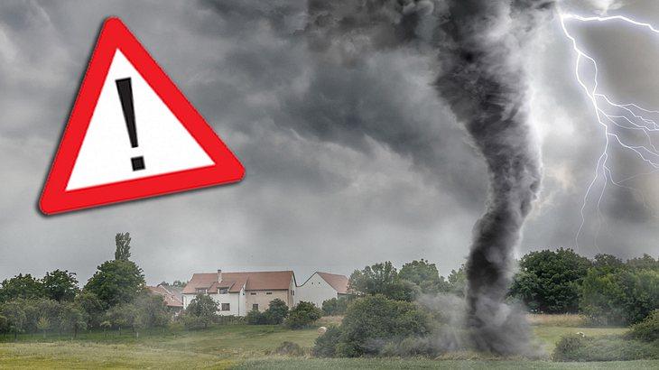 Tornados haben die Kraft ganze Dächer abzudecken
