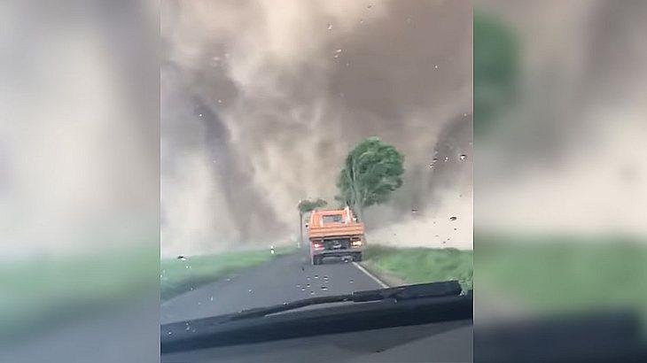 Tornado bei Viersen