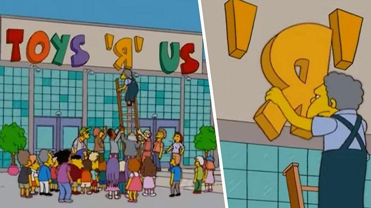 Toys'R'Us schließt bei den Simpsons?